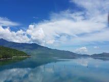 Spokojny jezioro fotografia stock
