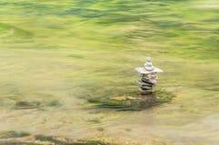 Spokojny miejsce na Chattooga rzece Fotografia Royalty Free
