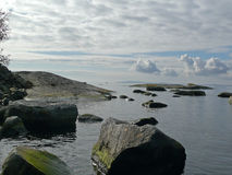 spokojny morze Obrazy Royalty Free