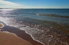 Spokojny morze bałtyckie Fotografia Royalty Free