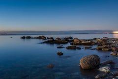 Spokojny morze bałtyckie Fotografia Stock