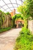Spokojny patio Zdjęcie Royalty Free