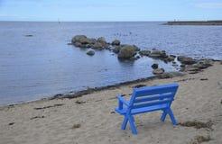 Spokojny Plażowy Kivik, Szwecja Obraz Royalty Free
