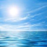 spokojny seascape Fotografia Stock