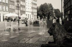 Spokojny uliczny życie Fotografia Royalty Free