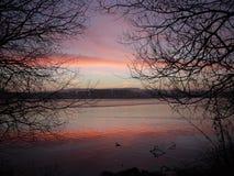 Spokojny wschód słońca Obraz Stock