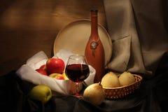 spokojny życia wino Zdjęcia Royalty Free