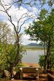 Spokoju miejsce w Pilansberg gry rezerwie Południowa Afryka Obraz Stock