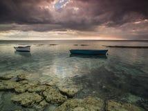 Spokoju morze Zdjęcia Royalty Free