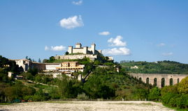 Spoleto Royalty Free Stock Images