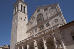Spoleto Cathedral Royalty Free Stock Image