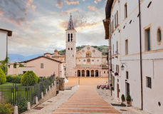 Spoleto Cathedral Royalty Free Stock Photos