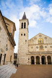 Spoleto cathedral Royalty Free Stock Photography