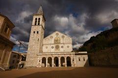 spoleto de cathédrale Images libres de droits