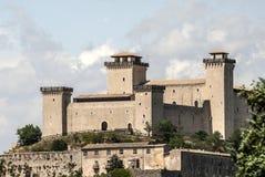 Castle of Spoleto Stock Images