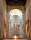 Spoleto San Salvatore Church UNESCO Lizenzfreie Stockbilder