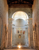 Spoleto San Salvatore Church UNESCO Royalty Free Stock Images