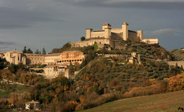 Spoleto, Umbría Imágenes de archivo libres de regalías