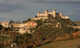 Spoleto, Umbrië Royalty-vrije Stock Afbeeldingen
