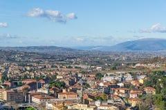 Spoleto, Umbrië, Italië Royalty-vrije Stock Foto's
