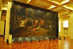 Spoliarium målning royaltyfri foto