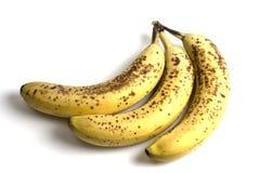 spolierade bananer Arkivbilder