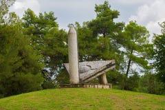 Spomenik вне Bencani стоковые изображения rf