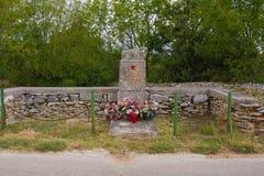 Spomenik вне Vodnjan стоковая фотография