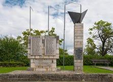 Spomenik en Vizinada fotografía de archivo
