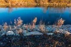 Sponda del fiume Immagine Stock