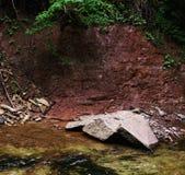 Sponda del fiume Immagini Stock