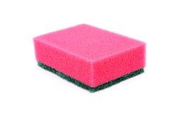 Sponge. Kitchen sponge isolated on a white background stock images