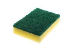 Sponge. Image of a kitchen sponge on white royalty free stock photo