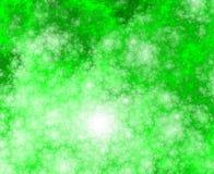 Sponge 5 BG. Fractal sponge background in green shades/ tones royalty free illustration