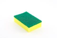 Sponge. On a white background Stock Photos