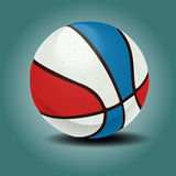 Sponge basketball ball. Royalty Free Stock Photography