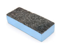 Sponge with blue abrasive Royalty Free Stock Photo