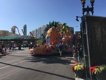 Sponge Bob Square Pants parade. Sponge Bob Square Pants parade in Universal Studios in Orlando, FL Royalty Free Stock Photos
