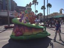 Sponge Bob Square Pants parade. Sponge Bob Square Pants parade in Universal Studios in Orlando, FL Royalty Free Stock Photo