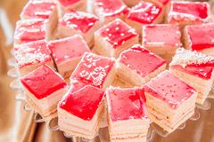 Sponge-cake κέικ στοκ εικόνα με δικαίωμα ελεύθερης χρήσης