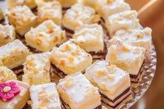 Sponge-cake κέικ στοκ φωτογραφία με δικαίωμα ελεύθερης χρήσης