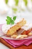 Sponge cake royalty free stock photography