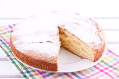 Sponge cake Royalty Free Stock Images