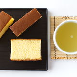 Sponge cake Royalty Free Stock Photography