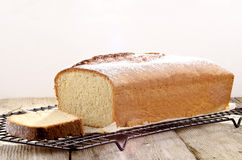 Sponge cake with lemon aroma Royalty Free Stock Image