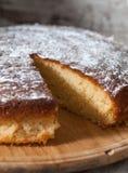 Sponge cake of lemon Stock Images