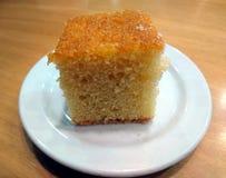 Sponge cake. Slices of baked sponge cake Royalty Free Stock Image