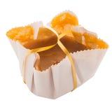 Sponge cake. Traditional desert from Portugal Stock Images