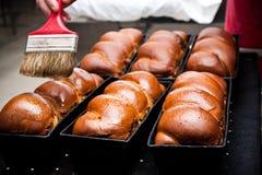 Sponge cakes Royalty Free Stock Images