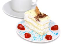 Sponge cakes Royalty Free Stock Photography